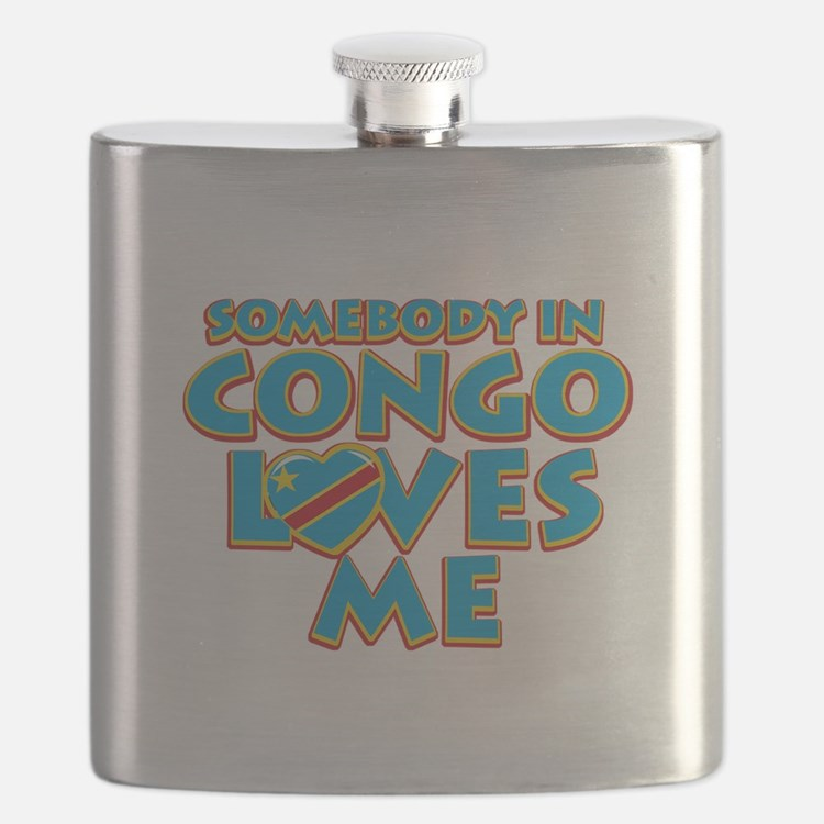 Somebody in Congo Loves me Flask