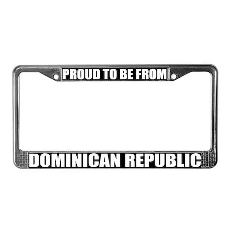 Dominican Republic License Plate Frame