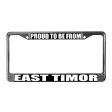 East Timor License Plate Frame