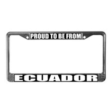Ecuador License Plate Frame