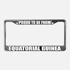 Equatorial Guinea License Plate Frame