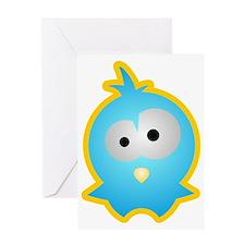 Tierkinder: Vögelchen Greeting Card
