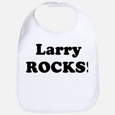 Larry Rocks! Bib