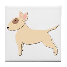 Bull Terrier! Tile Coaster