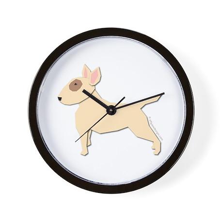 Bull Terrier! Wall Clock