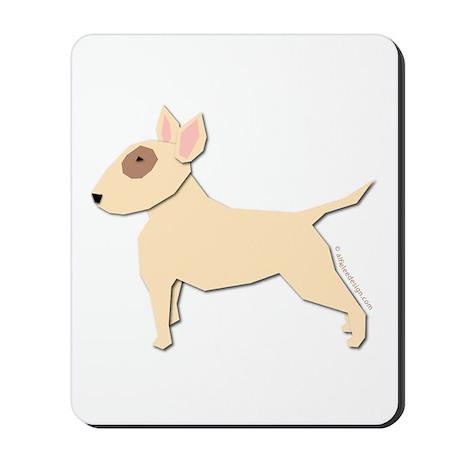 Bull Terrier! Mousepad