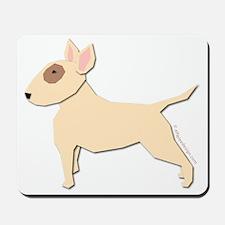 Bull Terrier! (H) Mousepad