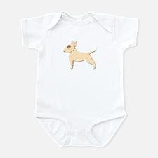 Bull Terrier! Infant Bodysuit