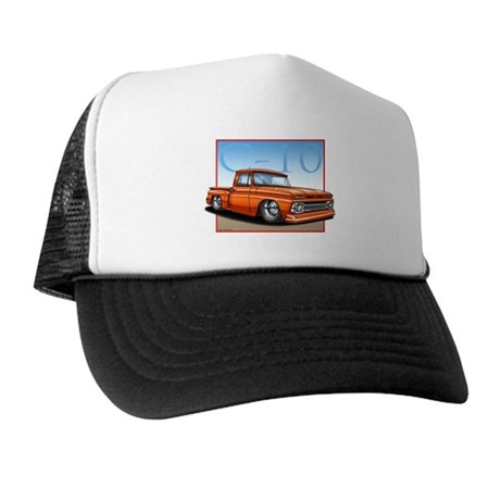 Orange_C10_Stepside Trucker Hat