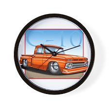 Orange_C10_Stepside Wall Clock