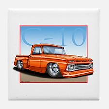 Orange_C10_Stepside Tile Coaster