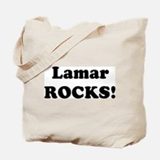 Lamar Rocks! Tote Bag