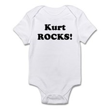 Kurt Rocks! Infant Bodysuit