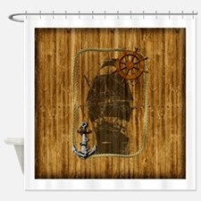 Historical Sailing Ship Shower Curtain