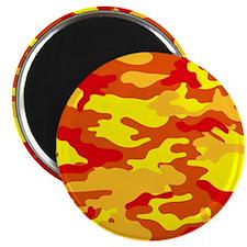Camouflage (Orange/ Fire) Magnet