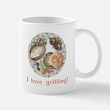 I love grilling! mug