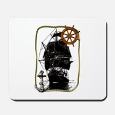 Historical Sailing Ship Mousepad