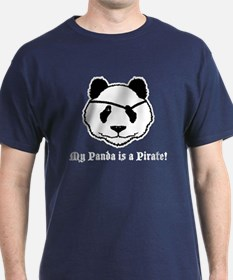 My Panda is a Pirate T-Shirt