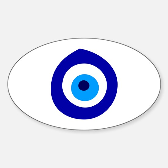 Evil Eye Magic Sticker (Oval)