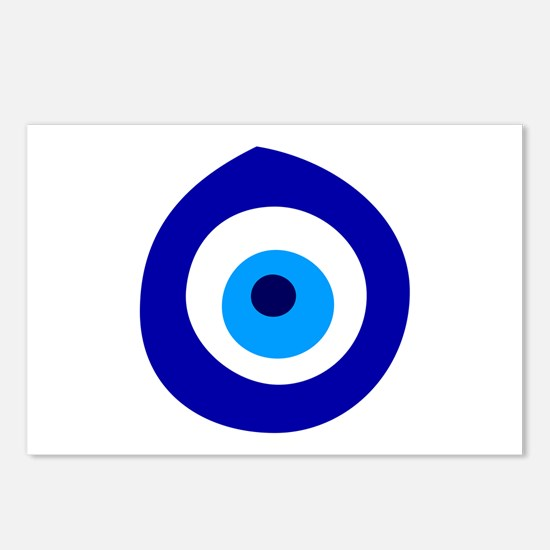 Evil Eye Magic Postcards (Package of 8)
