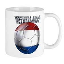 Netherlands Soccer Ball Mug