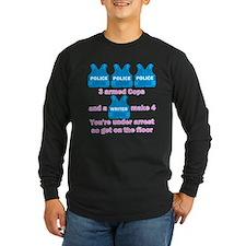 Castle Under Arrest Long Sleeve T-Shirt