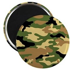 Camouflage (Olive / Green) Magnet