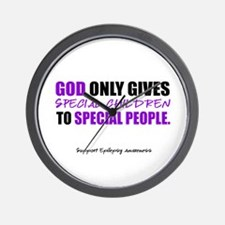 God Only Gives (Epilepsy Awareness) Wall Clock
