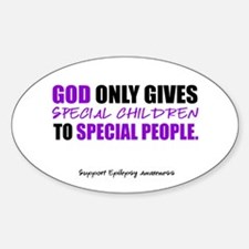 God Only Gives (Epilepsy Awareness) Decal