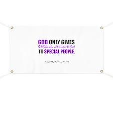 God Only Gives (Epilepsy Awareness) Banner