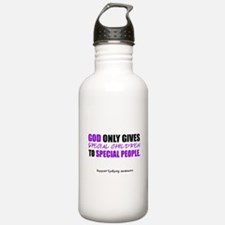 God Only Gives (Epilepsy Awareness) Water Bottle