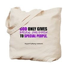 God Only Gives (Epilepsy Awareness) Tote Bag