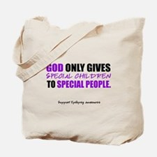God Only Gives (Epilepsy Awareness) Tote Bag