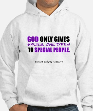 God Only Gives (Epilepsy Awareness) Hoodie