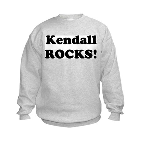 Kendall Rocks! Kids Sweatshirt
