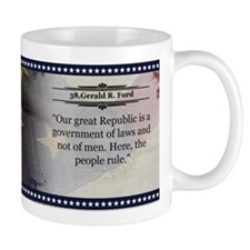 Gerald R. Ford Historical Coffee Mugs