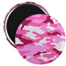 Camouflage (Red / Pink) Magnet