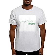 Lord Capulet Ash Grey T-Shirt