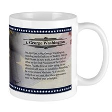 George Washington Historical Mugs