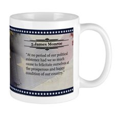 James Monroe Historical Mugs
