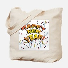 Confetti New Years Eve Tote Bag