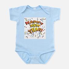 Confetti New Years Eve Infant Bodysuit