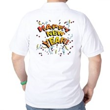 Confetti New Years Eve T-Shirt