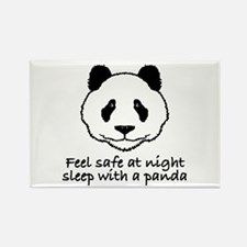 Feel safe at night sleep with a panda Rectangle Ma