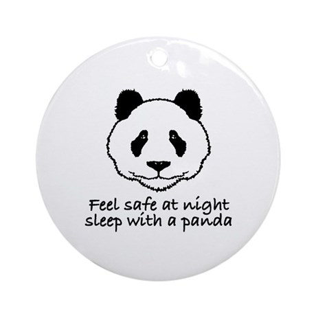 Feel safe at night sleep with a panda Ornament (Ro