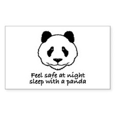 Feel safe at night sleep with a panda Decal