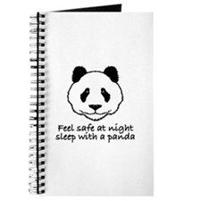 Feel safe at night sleep with a panda Journal
