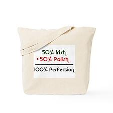 Irish & Polish Tote Bag
