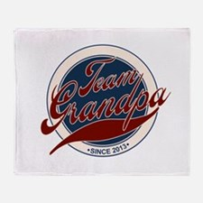 Team Grandpa 2013 Throw Blanket