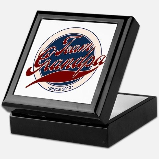Team Grandpa 2013 Keepsake Box